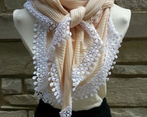 Triangle Fringe Scarf Eco Friendly Oversized Made in USA