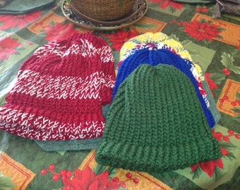 Cozy and Warm Loom Woven Hats