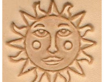 Sun Face - Leather Stamp Tool