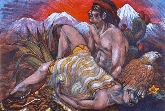 Southwest Pieta by Luis Jimenez