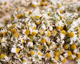 Organic Dried German Chamomile Herb Whole Flowers Tea