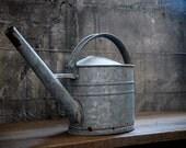 Antique Aluminum Watering Can