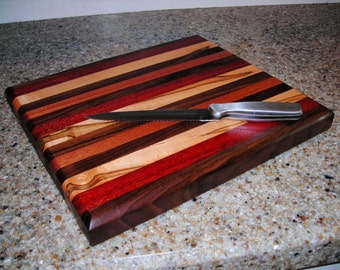 "Handmade Wood Cutting Board ***""FREE SHIPPING""***"