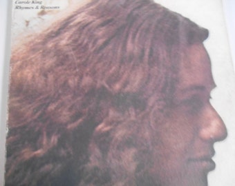 Carole King- Rhymes and Reasons-vinyl record