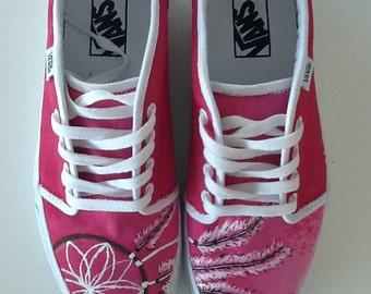 Customized Sneakers- Vans, Converse or Toms Dreamcatcher