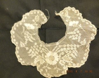 Antique lace for women's clothing