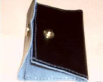 Leather  WALLET for Tachograph Digital Credit card plus slips , Debit Card plus slips , Id Card and Notes  , Made in UK New