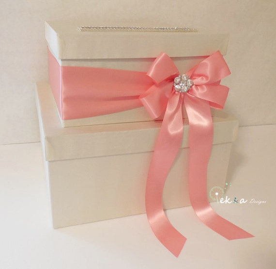 Wedding card box / money box / card holder / gift card box / 2 Tier ...