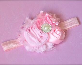 Molly headband - Pink