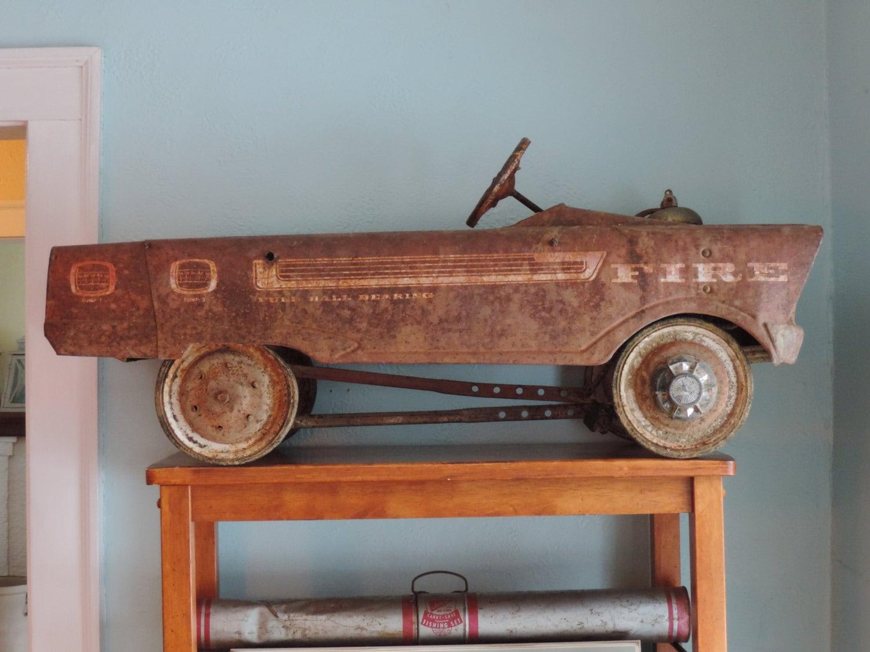 Vintage pedal car names
