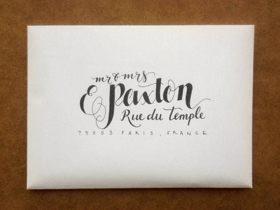 hand lettered envelopes unavailable listing on etsy 13874 | il 570xN.498226880 nwfh