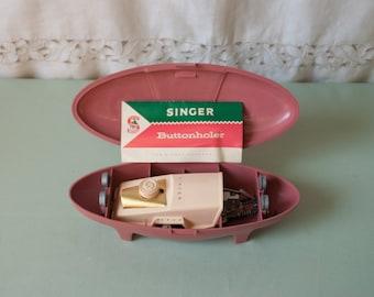 1960s Singer Buttonholer Free Shipping