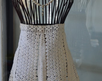 Gorgeous Crochet VINTAGE Apron