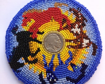Liberty Embroidered Beadwork Barrette