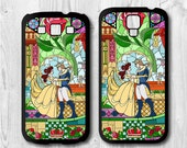 Disney Samsung Galaxy S4 case, Galaxy S3 case - Beauty and the beast - Disney Galaxy S4 cover, Galaxy S3 cover, Rubber / Hard case
