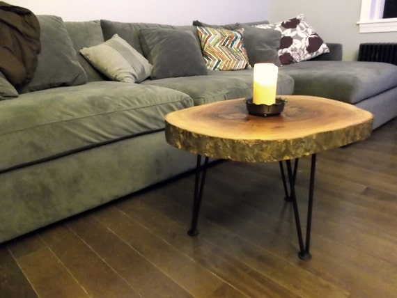 Items Similar To Log Slice Coffee Or End Table On Etsy
