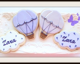 Custom Decorated Baby Shower Sugar Cookies
