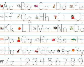 Worksheets Abc Writing free worksheets abc writing sheet math for popular items flash on etsy search results