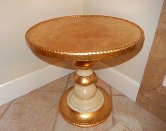 ITALY GOLD LEAF Table
