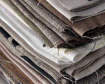 Linen Fabric Samples. 100% linen made in Belarus. Eco-friendly.