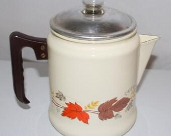 Enamel Kettle or Teapot or coffee pot
