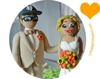 Funny Wedding Cake Topper Cake topper, Wedding Cake Topper - Marry me tag,CUSTOM cake topper,dog cake topper,puppy cake topper, i love u tag