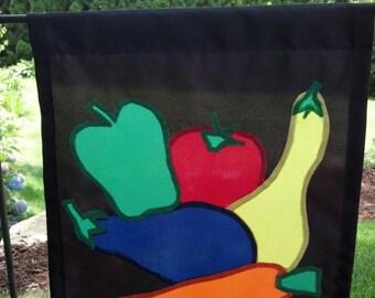 Garden Vegetables Garden Flag