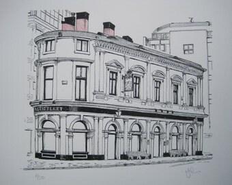 Baltic Fleet - Limited Edition, Hand Pulled Silkscreen Art Print