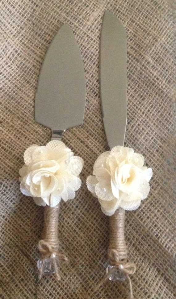 rustic wedding cake knife and server items similar to rustic wedding cake knife and server 7204