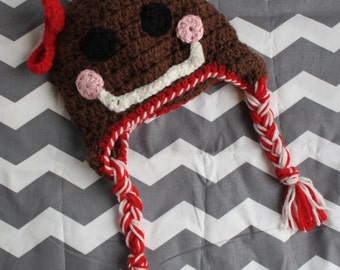 Gingerbread Hat (available in sizes newborn to adult)