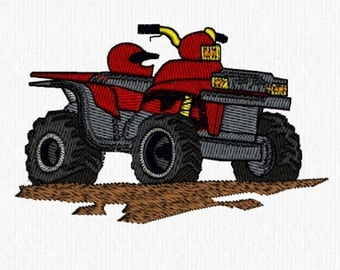 4 Wheel Drive Vehicles Machine Embroidery Designs