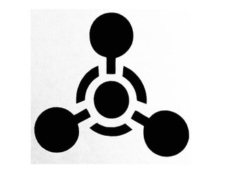 """Chemical Weapon 3"""" Decal"""