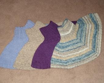 Warm Collar in 4 yarn weights Pattern PDF