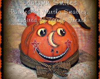 Autumn Smiles - Painted by Martha Smalley, Painting With Friends E Pattern