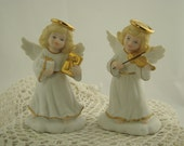 1996 Bronson Collectibles Golden Angels Collection Set of 2  RS600