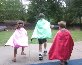 Kids Superhero Capes  Party favors set of 25 - FREE Shipping and Discount, Birthday party