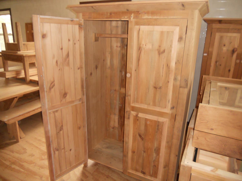Wooden Wardrobe Styles : Reclaimed Barn Wood Furniture Wardrobe Armoire by ValentinoDesigns