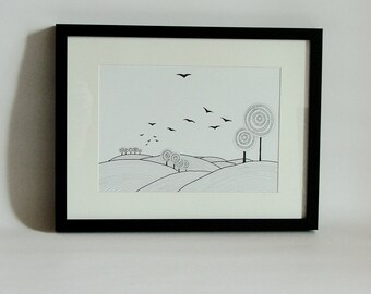 Landscape 2 - hihg quality print