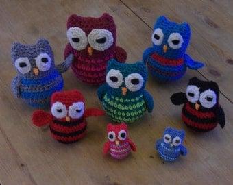 owls crochet