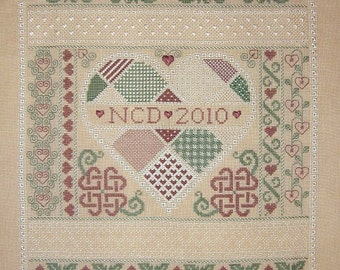 Hearts Entwined PDF Chart by Northern Expressions Needlework