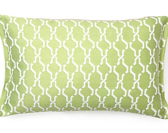 """Link 17x11"""" Spring Reversible to back Outdoor Pillow"""