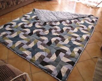 Quilt, Patchwork bedspread