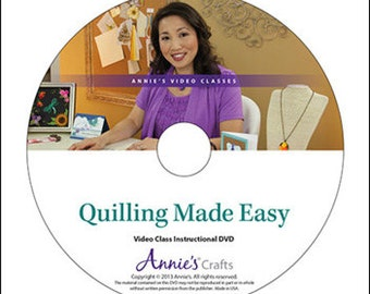 DVD - Quilling Video from Quilled Creations by  Alli  Bartkowski
