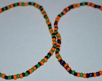 Halloween inspired bracelets (1 pair)
