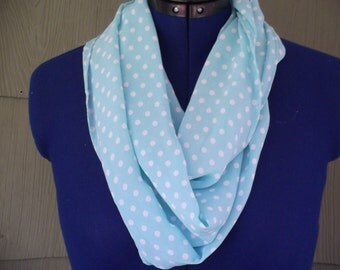Sea Foam Green Silk Scarf