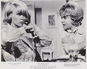 "Original photograph Dorothy Provine & Hayley Mills  ""That Darn Cat""  C.1965---FREE SHIPPING !!!"