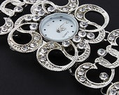 Women's watches with Czech crystal bracelet