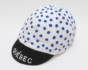 Cycling cap Québec White