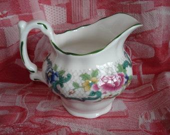 Floradora Green Creamer by Royal Doulton