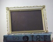 Decorative brass frame, fits 5x7 picture
